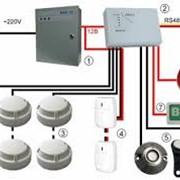 Проектирование, монтаж, наладка и техническое обслуживание охранной сигнализации фото