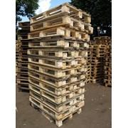 Поддон деревянный облегчённый термообработанный фото