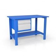 Стол из металла для слесаря ВСТ-Н 12/ТП2 фото