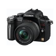 Цифровые фотоаппараты со сменной оптикой : Panasonic Lumix DMC-GH2KEE-K Body Black фото