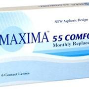Линзы Maxima Maxima 55 Comfort + сила от -12,00 до +6,00 фото