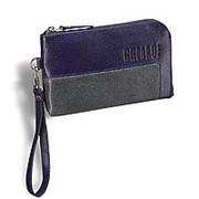 Мужской клатч BRIALDI Mobile (Мобил) relief navi+grey фото