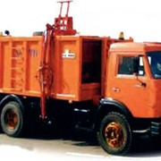 Мусоровоз с боковой загрузкой KO-415А (шасси КАМАЗ-53215 6х4) фото