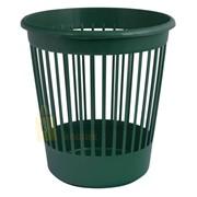 Корзина офисная Арника для бумаг 10 л., пластик, зеленый (82066) фото