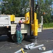 Навесная машина для монтажа ограждений ВТР 1000 HD, Сваебойное оборудование фото