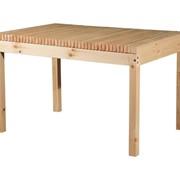 Обеденный стол из сосны для дачи Лахти 1 фото