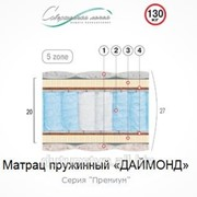 Матрац пружинный Велам Даймонд 190х180 фото