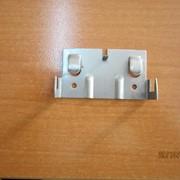 Кляммер для монтажа вентфасадов завершающий из нержавеющей стали 1,2 мм фото