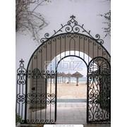 Ворота Металлические в Алматы фото