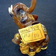 Сувенир Слон 2704 7х9,5 см. фото