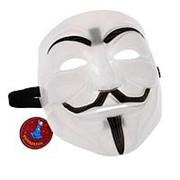 """Карнавальная маска """"Гай Фокс"""", пластик фото"""