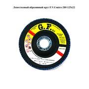 Лепестковый абразивный круг F.V.Conico Z80 125x22 фото