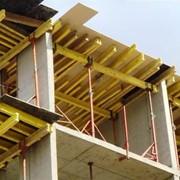 Балки двутавровые деревянные фото