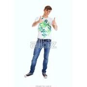 Мужские футболки. Трикотаж для мужчин фото