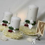 Свадебные свечи Домашний очаг фото