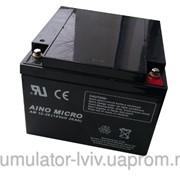 Аккумулятор AGM 26 Ач герметизированный свинцово-кислотный EverExceed AM 12-26 фото