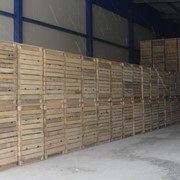 Контейнер дерев'яний , ящики деревянные, тара деревянная фото