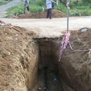 Делаем проколы под дорогами для прокладки водопро. фото