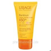 Uriage Барьесан SPF 50+ Тональный крем с тонким ароматом (натуральный оттенок) (50 мл) фото