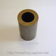 Втулка бронзографитовая 17,5х29х46,5 фото