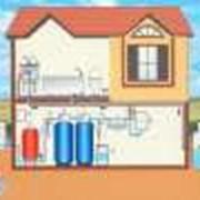 Установка систем защиты от протечек воды фото