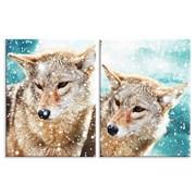 Картина Влюбленные волки фото