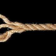 Веревка сизалевая С крученая 3-прядная диам. 16 мм на катушке 300 мм фото