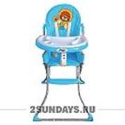Стульчик для кормления BARTY-KIDS 8113 голубой фото