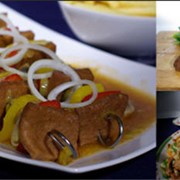 Растительное мясо «ROBI» — это растительный продукт, не содержащий животных жиров и каких либо примесей фото