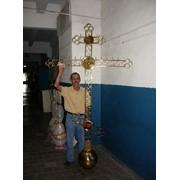 Кресты на купола Белорусский 2 - 2,0 м фото