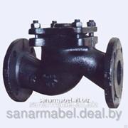 Клапан обратный Ду 40 чугунный 16ч6п подъемный фланцевый фото