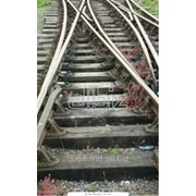 Шпалы - железобетонные и деревянные фото