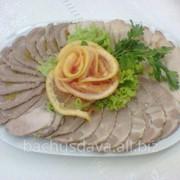 Банкетные блюда в ресторане Bachus Dava фото