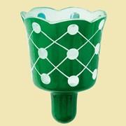 Лампада №2ТР (зеленая). Арт.Ст.723 фото