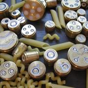 Фильеры, матрицы для производства макарон, кондитерская оснастка фото