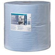 Tork Advanced 130070 протирочный материал голубой 2-сл. 340м 34*37 (х1) фото