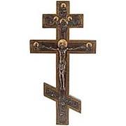 """Крест """"Распятие"""" /Библейские сюжеты 23х43х3см. арт.WS-61 Veronese фото"""