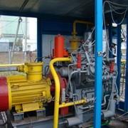 Автомобильная газонаполнительная компрессорная станция (АГНКС) АГЗС фото