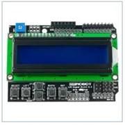 Символьний дисплей LCD keypad shield для Arduino фото