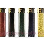 Пьезозажигалка Rusaz 002-5 кожа фото