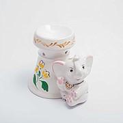 Ароматическая лампа Слон 20*10 см фото