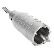 Комплект: сверло корончатое по бетону 40 мм+Переходник SDS Plus 100мм INTERTOOL SD-7040 фото