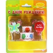Свечи Праздничный торт 7шт фото