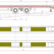 Полуприцепы и прицепы-тяжеловозы HARTUNG низкорамные (погрузочная высота от 600 до 920 мм) фото