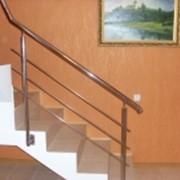 Перила для внутренних лестниц фото
