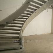 Бетонная лестница, входные группы фото