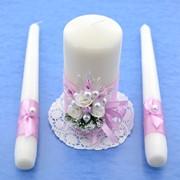 Домашний очаг, свадебные свечи в ассортименте фото