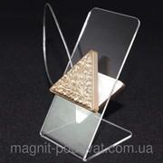 Декоративный магнит подхват для тюлей и штор № 67-109 фото