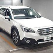 Кроссовер премиум класса люкс 5 поколение SUBARU Outback кузов BS9 гв 2015 4WD пробег 173 т.км цвет белый фото