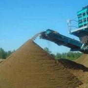 Песок сеяный 10т. фото